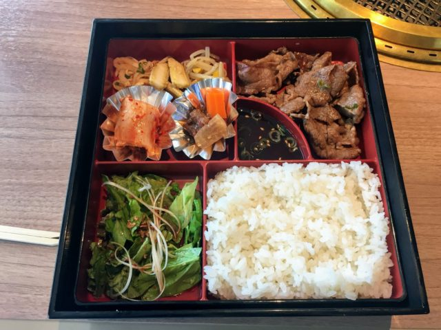 食道園 大阪上本町 焼肉弁当