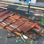 【大阪市東成区】2018年9月4日台風21号が過ぎ去った翌朝