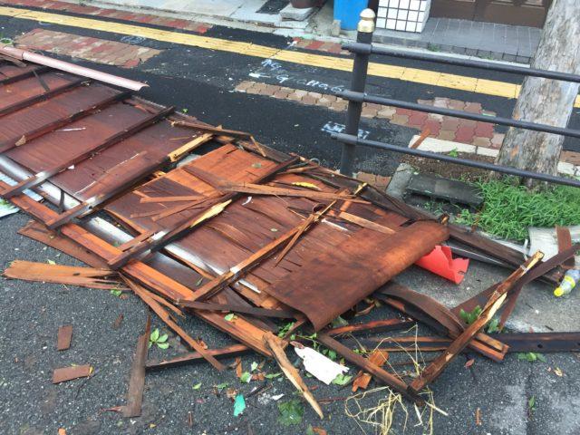台風21号 東成区