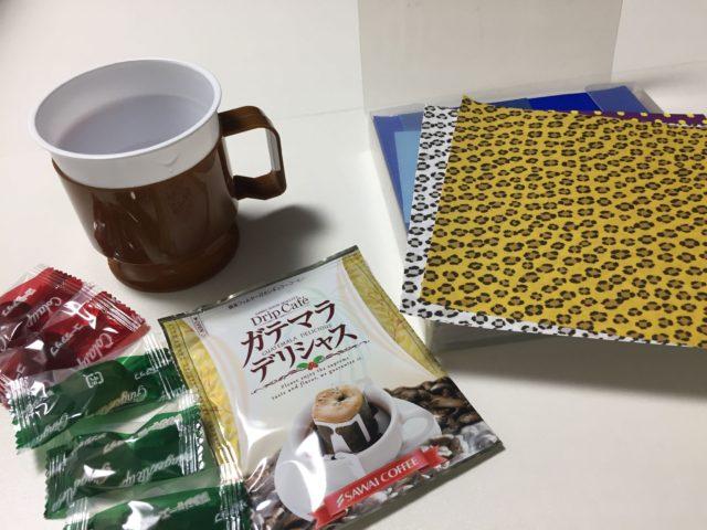 コーヒー 折り紙