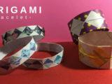 【折り紙】簡単かわいい腕輪(ブレスレット)の折り方