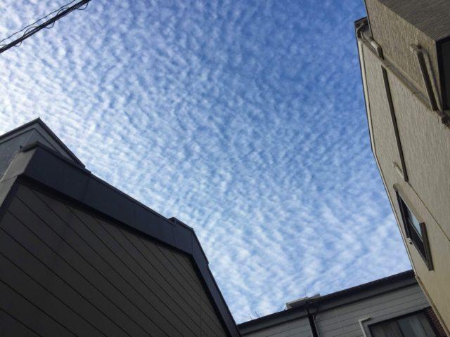うろこ雲 写真