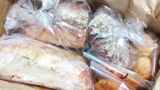 納得のいくパン作りをしている「ジョンのパン」が届きました!